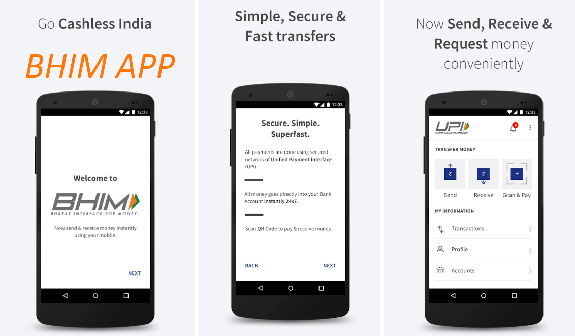 bharat ias - BHIM app safer than mobile wallets