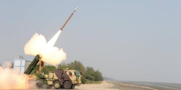 bharat ias - Improved Pinaka rockets test-fired